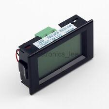 D85-20 AC80-500V Digit Voltage Volt Meter Blue LCD Panel Display 220V 380V Black