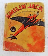 VINTAGE BIG LITTLE BOOK SMILIN' JACK AND THE STRATOSPHERE ACCENT #1152