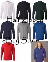JERZEES SpotShield 50/50 Long Sleeve Polo Sport Shirt 437MLR S-2XL