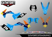 FOR KTM EXC 2012-2013 XCW CUSTOM GRAPHICS MX DECALS MOTOCROSS STICKERS