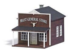 Busch 9725 US Gemischtwarenhandel (General Store), H0 Modellwelten Bausatz 1:87