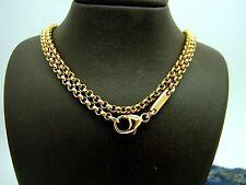 Chopard Erbsen Kette 750 Gold Roségold 60 cm 15,4 Gramm Halskette