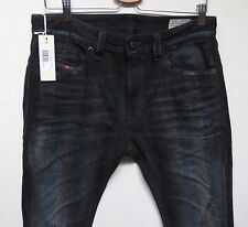Diesel Men Italian-Made Jeans 38 W x 32 Thavar 844E Slim-Skinny New With Tags