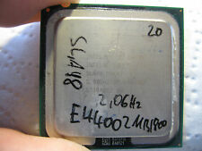 Intel Core2Duo Processor E4400 2.0 GHz, 2MB Cache, 800 MHz FSB SLA98          20