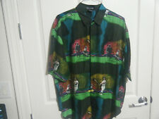 Ted Wiliams SILK CLUB XL baseball short sleeve shirt
