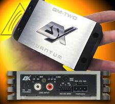 ESX QM TWO Mini 2-Kanal-Verstärker Auto Endstufe 240 Watt digital