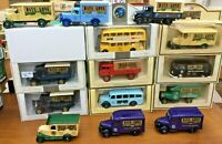 LLEDO Days Gone Toy Fair models 1990 To 1999 VW Dennis Mercedes Lodekka Foden