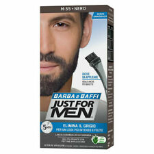 Just For Men Barba & Baffс Tinta Permanente per Uomo - Nera, M55