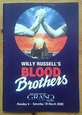 Blood Brothers programme Wolverhampton Grand theatre 2000 Linda Nolan