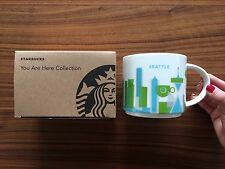 Starbucks You Are Here Collection Mug Seattle Limited 14oz YAH