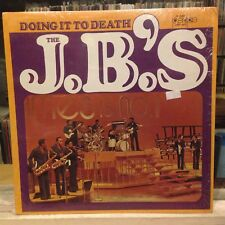 EXC LP~JAMES BROWN~The J.B's~Doing It To Death~[Original 1973~PEOPLE~Issue]~