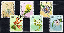 1Cuba 1980 Mi 2518-2523 Flowers - CTO