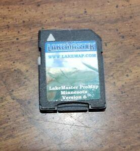 Lowrance LakeMaster ProMap  Minnesota Version 6 Micro SD/SD