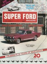 SUPER FORD UNCIRCULATED 1984 APR - MUSTANG ANNIVERSARY ISSUE, SVO