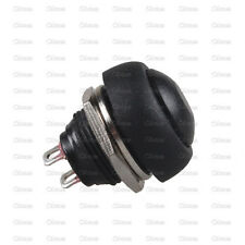 5Pcs Black 12mm Waterproof Momentary ON/OFF Push Button Mini Round Switch