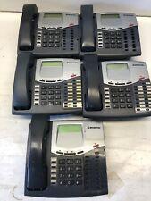 Lot of 5 *Inter-Tel Mitel 8520 550.8520 LCD Office Phones
