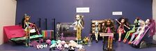 Monster High Frankie's Hospital Clinic Build a Monster Scene Set #1
