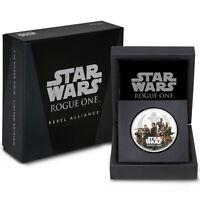 2017 Niue $2 1 oz. Proof Silver Star Wars: Rogue One Rebellion In OGP SKU43917