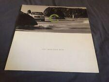 1996 Mercedes Benz C Class USA Market Color Brochure Catalog Prospekt