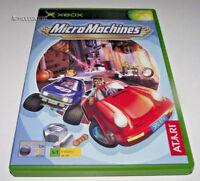 Micro Machines Xbox Original PAL *Complete*