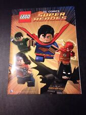 DC Superheroes Lego Big Comic Book San Diego Comic Con Exclusive W/ Poster
