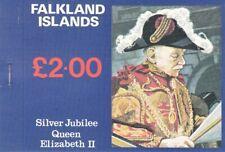1977Falkland Islands H.R.M. Queen Elizabeth II - Silver Jubilee booklet.