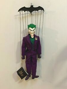 """DC DIRECT 17"""" MARIONETTE PUPPET JOKER-RARE!!- LIMITED EDITION- #201 OF 777- 2003"""