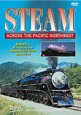 Steam Across the Pacific Northwest DVD Pentrex SP 4449 Stevens Pass Puget Sound