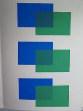 Josef Albers Original Silkscreen Folder XI-2 Right Interaction of Color 1963