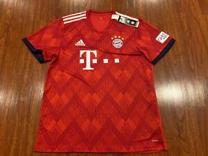2018-19 Men's Adidas Bayern Munich Home Soccer Jersey Large L