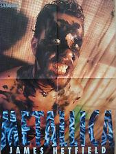 James sentiment [Metallica] // Sound Garden __ 1 poster/affiche