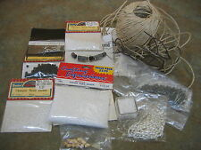 LOT Miscellaneous GLASS SEED BEADS Necklace clasps CORD  Needlework Jewelry