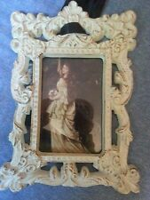 Victorian Antique Style Frame, Wrought Iron, Shabby Chic, Primitive, Gorgeous!