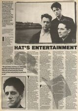 9/9/89Pgn11 Article & Picture 'hat's Entertai Nt' Highly Acclaimed Blue Nile Bac