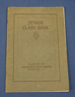 Vintage 1919 Senior Class Yearbook Charlotte High School Rochester NY