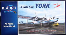 Mach 2 Models 1/72 Avro York Skyways of London