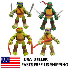 Teenage Mutant Ninja Turtles Action Figures Classic Kids Toys Xmas Gift 4 Pcs