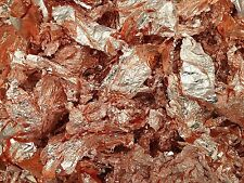 10 Grams of Copper Leaf Flakes .....Premium Quality & Lowest price online !!