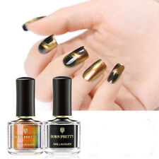 2Bottles BORN PRETTY 6ml Gold 3D Magnetic Chameleon Nail Polish Nail Art Varnish