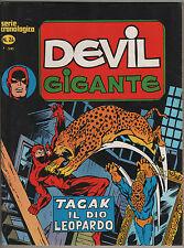 DEVIL GIGANTE corno N.24 TAGAK IL DIO LEOPARDO  iron man