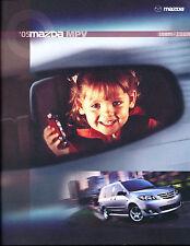 2005 Mazda MPV Van 18-page Original Car Sales Brochure Catalog