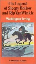 Legend Of Sleepy Hollow & Rip Van Winkle, Washington Irving, Acceptable Book