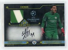2018 Ederson 26/50 Auto Jersey Topps Champions League Player-Worn Memorabilia