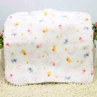 10X Baby Gaze Musselin Platz 100% Baumwolle Bad Waschen Kids Taschentuch H1D1