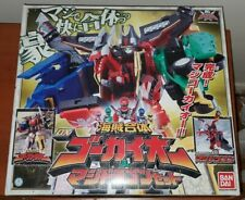 Power Rangers Legendary Megazord Gokai Oh With Red Dragon, Brand New