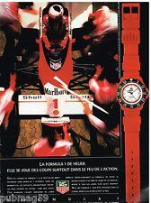 Publicité Advertising 1988 La Montre Formula 1 Tag Heuer