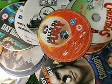 Lot of 60 Unboxed DVD Movie Bundle FREE POST
