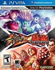 Street Fighter X Tekken PS Vita Game BRAND NEW SEALED