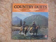 LP COUNTRY DUETS - CASH / BUTLER / DUNCAN / MOSBY ... / excellent état