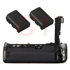 Pro Vertical Battery Grip 6D + 2x Decoded LP-E6 Battery For Canon 6D as BG-E13